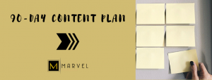 90 day content plan