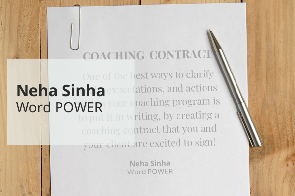 Co-Creating Coaching Contracts with Your Clients