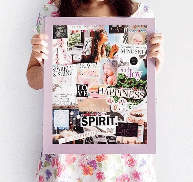 Create Your Passion Vision Board: Attract More Joy to Your Life
