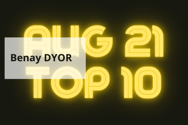 Top 10 Articles for August 2021 on The Coach Guardian